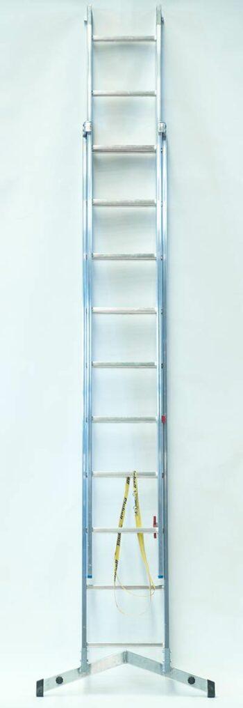 Escalera de aluminio ST 2 tramos