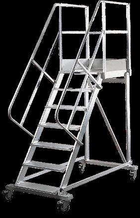 Escalera almac n m vil 55 - Escaleras metalicas plegables ...