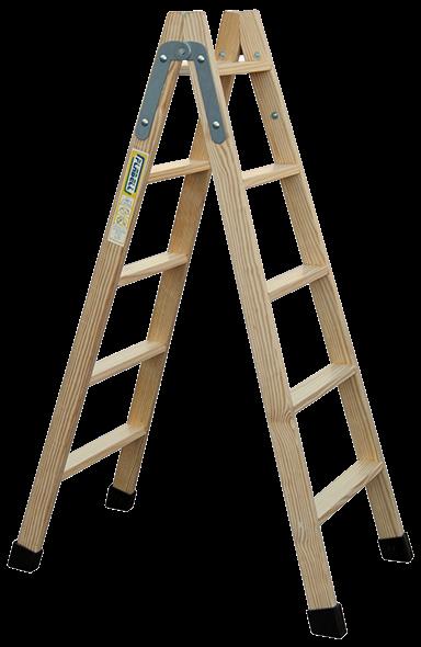 escalera madera de pintor plabell