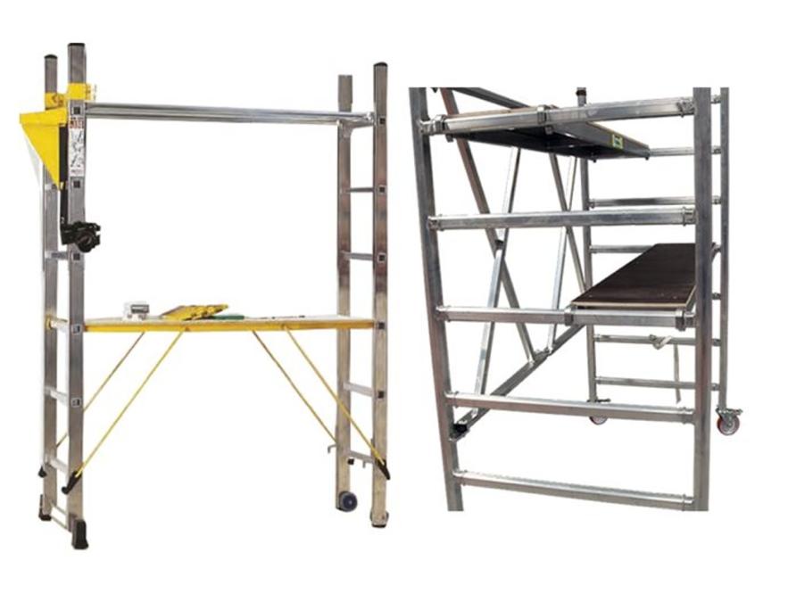 ¿Dónde conseguir andamios y estructuras a medida?