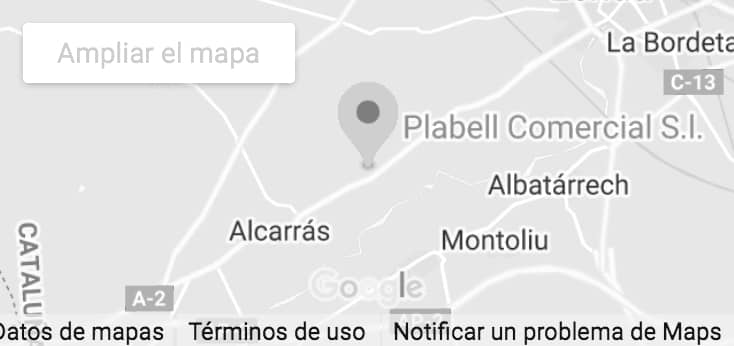 mapa Plabell