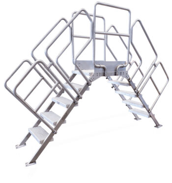 Escalera de acero inoxidable INSBRITAB