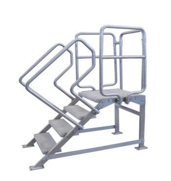 Escalera de acero inoxidable INSTAB