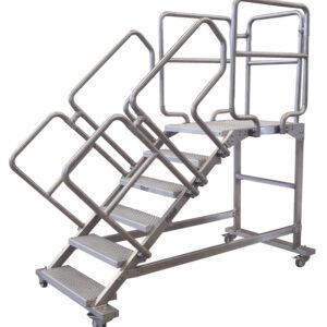 Escalera de acero inoxidable INSTADER