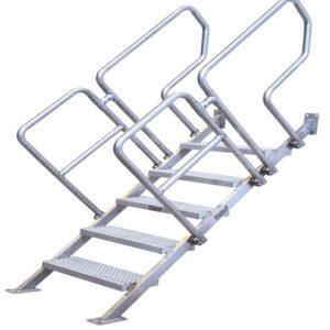 Escalera de acero inoxidable INSUP