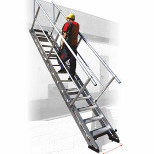 Escalera de altura variable AV60