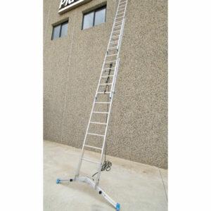 Escalera de cuerda 3 tramos en apoyo
