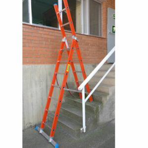 Escalera doble Fiberglass de 2 tramos