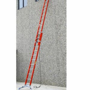 Escalera de doble subida con cuerda en Fiberglass